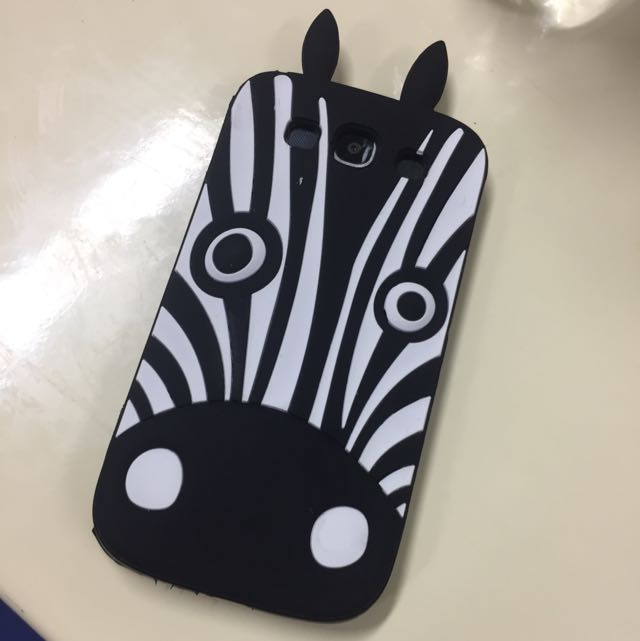 Sillicon Zebra For Samsung (MARC JACOBS)