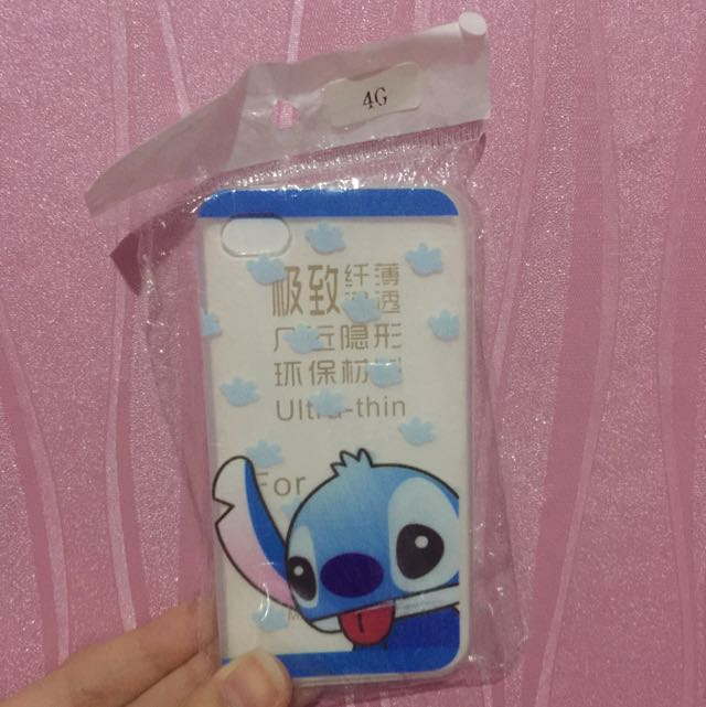 Stitch Jelly Case IPHONE 4,4s