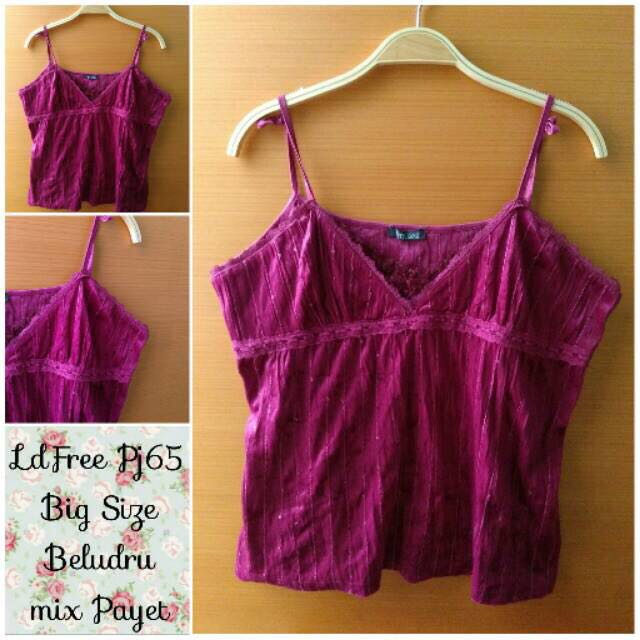tank top maroon large size