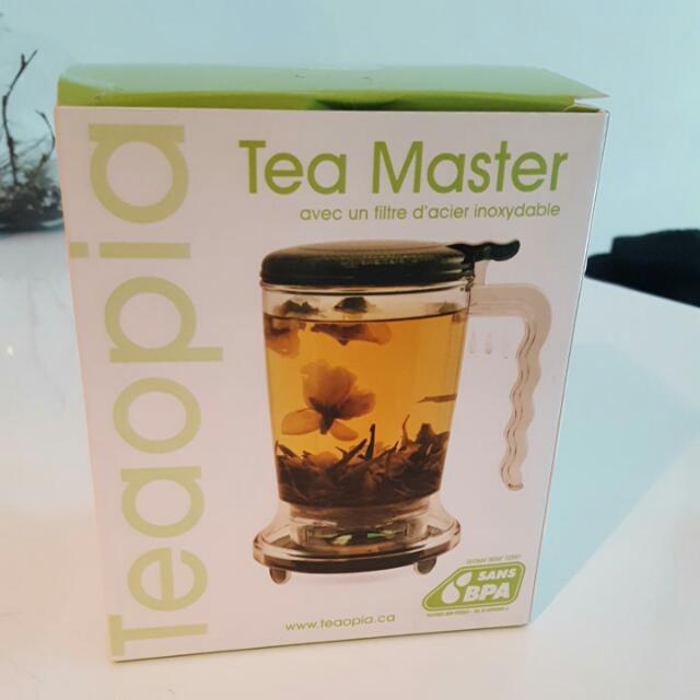 Teaopia Loose leaf tea maker