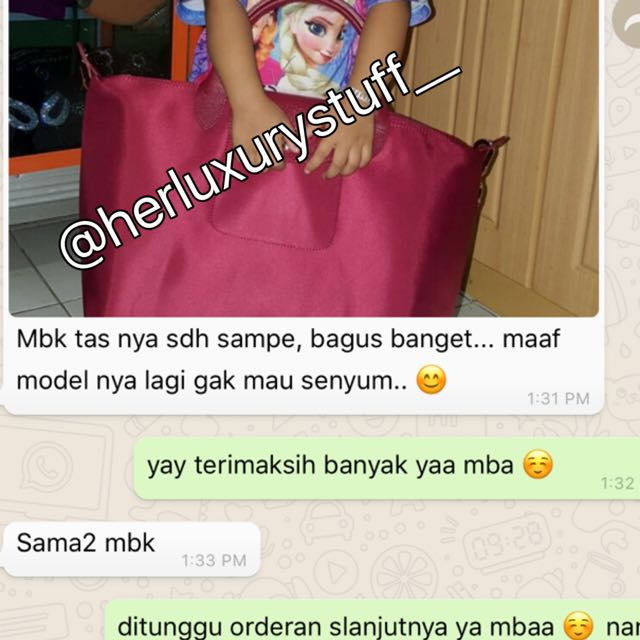 testimonial longchamp 💕 we are trusted