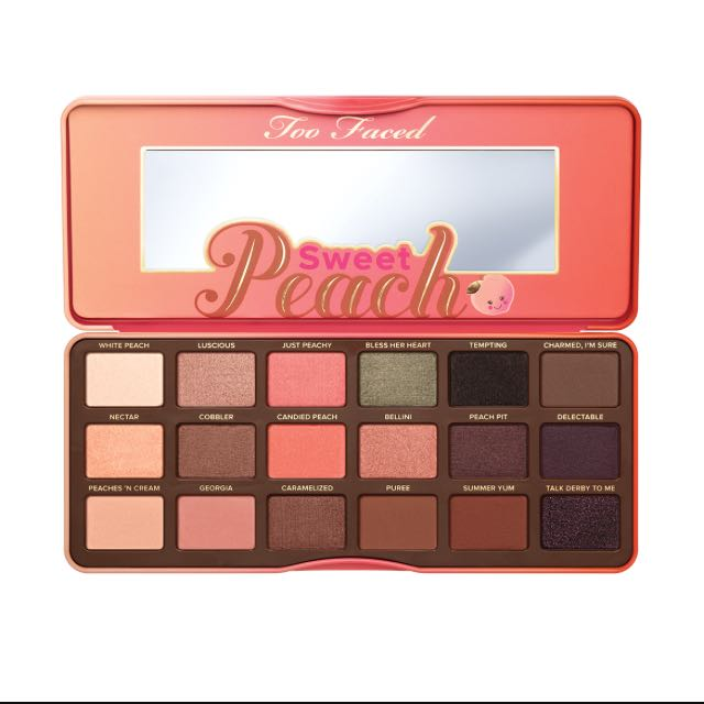 Too Faced Sweet Peach Pallette