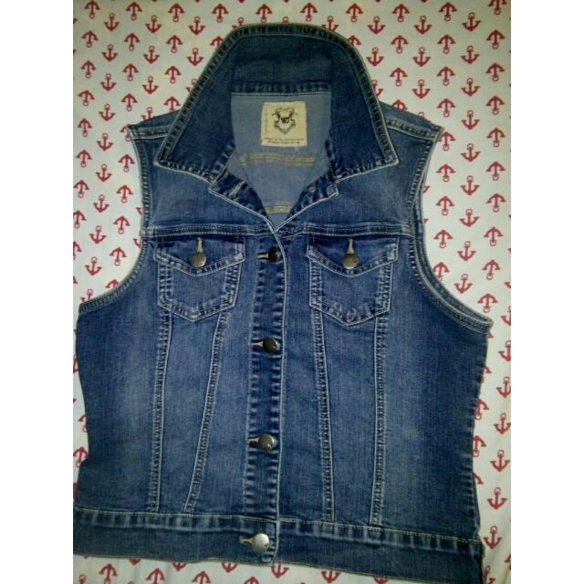 Wax Jeans Vest