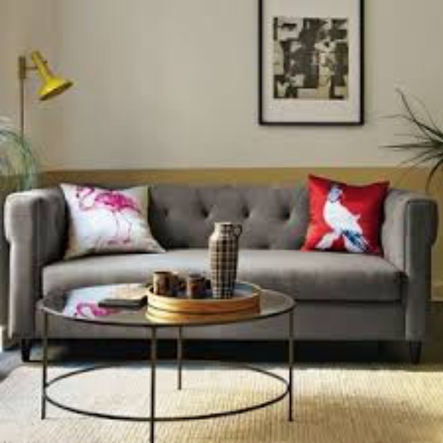 West Elm Mirror Coffee Table