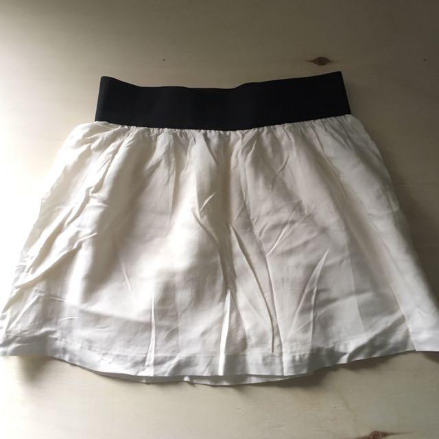 White Forever 21 Skirt Size Large