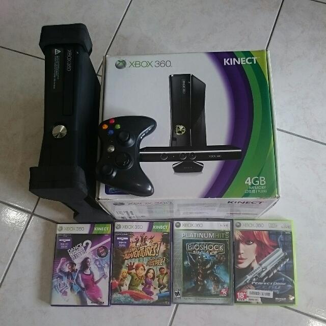 xbox 360 含體感遊戲