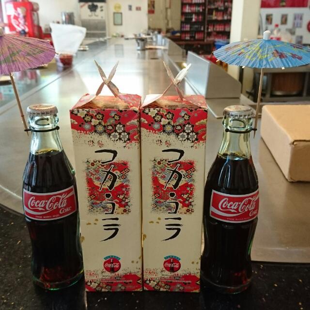 YUMO家 日本早期190ml 禮盒版 新加坡限定 可口可樂
