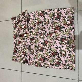 Rok Bunga Peplum Skirt