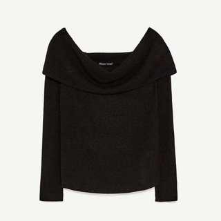 Zara Off Shoulder Sweater