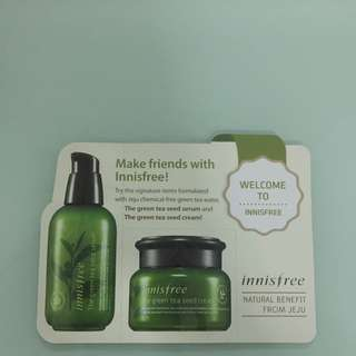 Innisfree The Green Tea Seed Leaflet Pouch