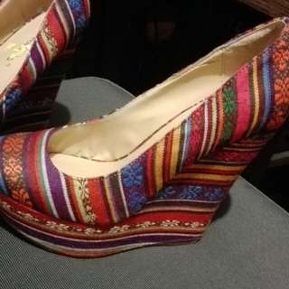 6'5 Wedge Shoes..