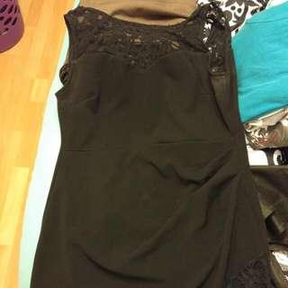 Black Dress Xl