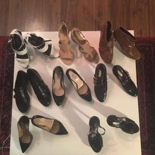 Lot of shoes size 7 $80 for the lot