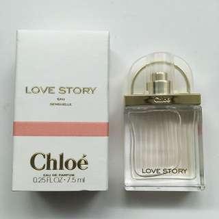專櫃品CHLOE 7.5ml香水