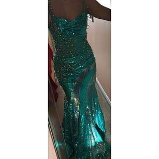 Gorgeous Beaded Evening Dress