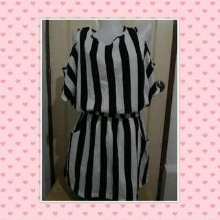 Preloved Dress(cut out shoulder)