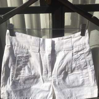 French Connection White Short