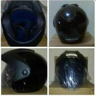Helm Honda Trx 3 Baru Half Face