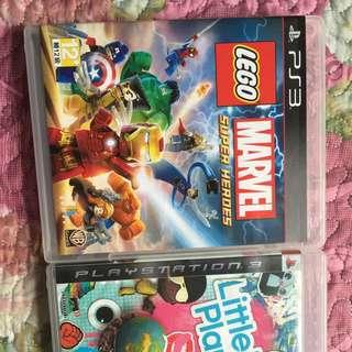 PS3小小大星球 樂高驚奇超級英雄