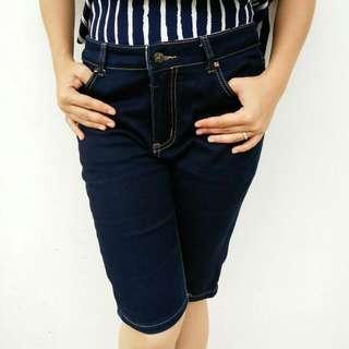 Celana Jeans Pendek Burberry