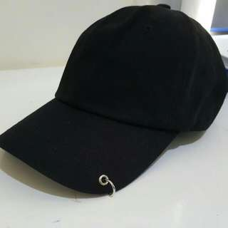 Ring Detail Cap