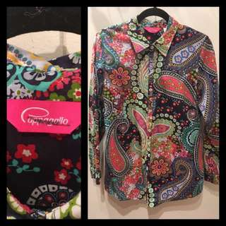 Size M - Pappagallo - Blouse