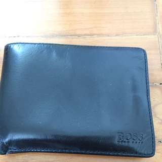 100% Calf Skin Hugo Boss Wallet