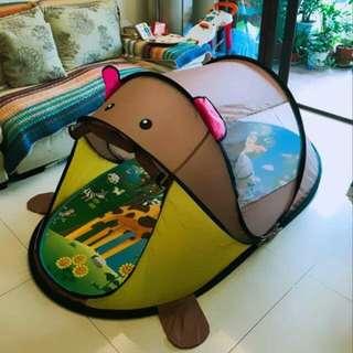 超大兒童帳篷室內遊戲屋(熊熊$老虎)
