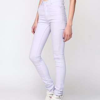 Cheap Monday Lilac Skinny Jeans