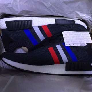 Adidas NMD Tricolor Black size 8.5us