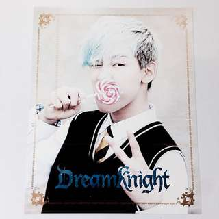 GOT7 Bambam Dream Knight Photo