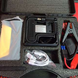 Unis Multipupose Powerbank With Car Jump Starter And Air Compressor