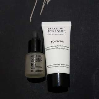 Make Up For Ever HD Elixir And Moisturizing Cleansing Cream
