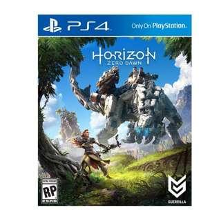 《地平線:期待黎明》中英文版 PS4