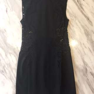 Lover Size 6/8 Black Lace Dress || FREE EXPRESS POST