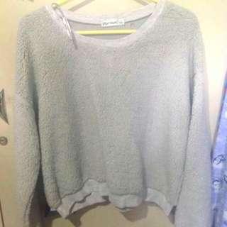 Fur Smi Croptop Sweater