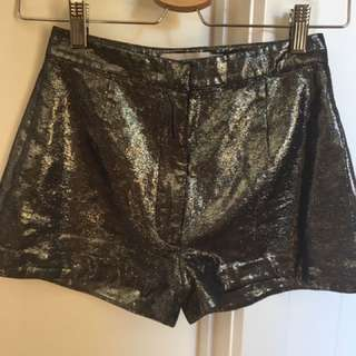 Shakuhachi High Waisted Shorts