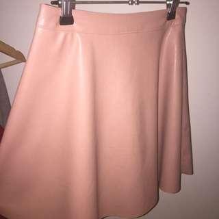 Light Pink A-Line Skirt
