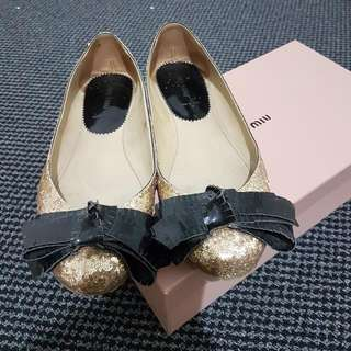 Authentic Miu Miu Flats 37