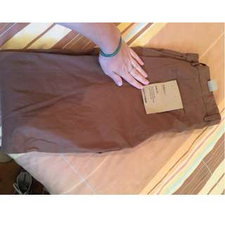 Country Road Slim Fit Brown Chinos