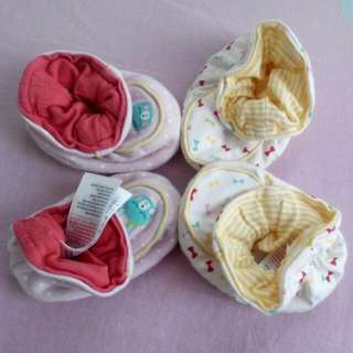 Mothercare Baby Girl booties 3-6 Months