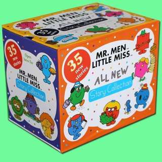 Mr Little Men And Little Miss Books set