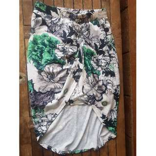 Staple The Label Sarong Style Floral Skirt