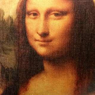 😊收藏經典/ 蒙娜麗莎微笑  🙏法國羅浮宮 X 美術館經典Pillowcase