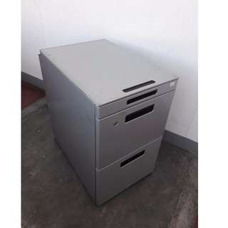 3 Drawer Sidewagon- Japan's Surplus Office Furniture