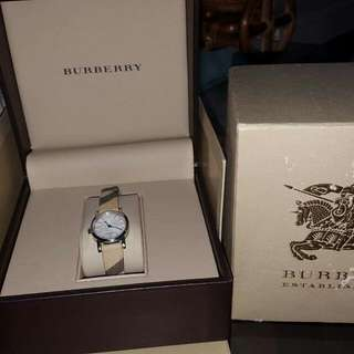 Authentic Burberry Smoked Check Women's Watch