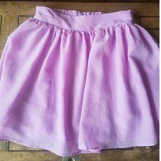 Rosebullet Lavender Skater Skirt