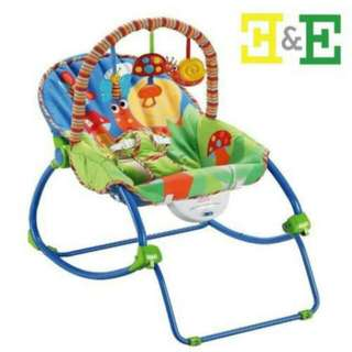 Fisher Price Infant To Toddler Rocker W/ Soothing Vibrator