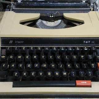早期英文打字機