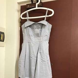 Brand New Grey Short Dress